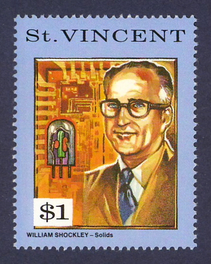 Science on Stamps: William Shockley